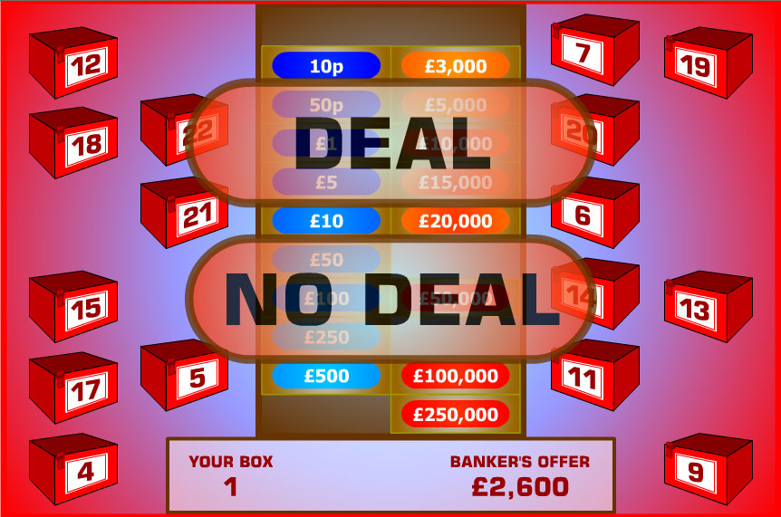Deal Or No Deal game